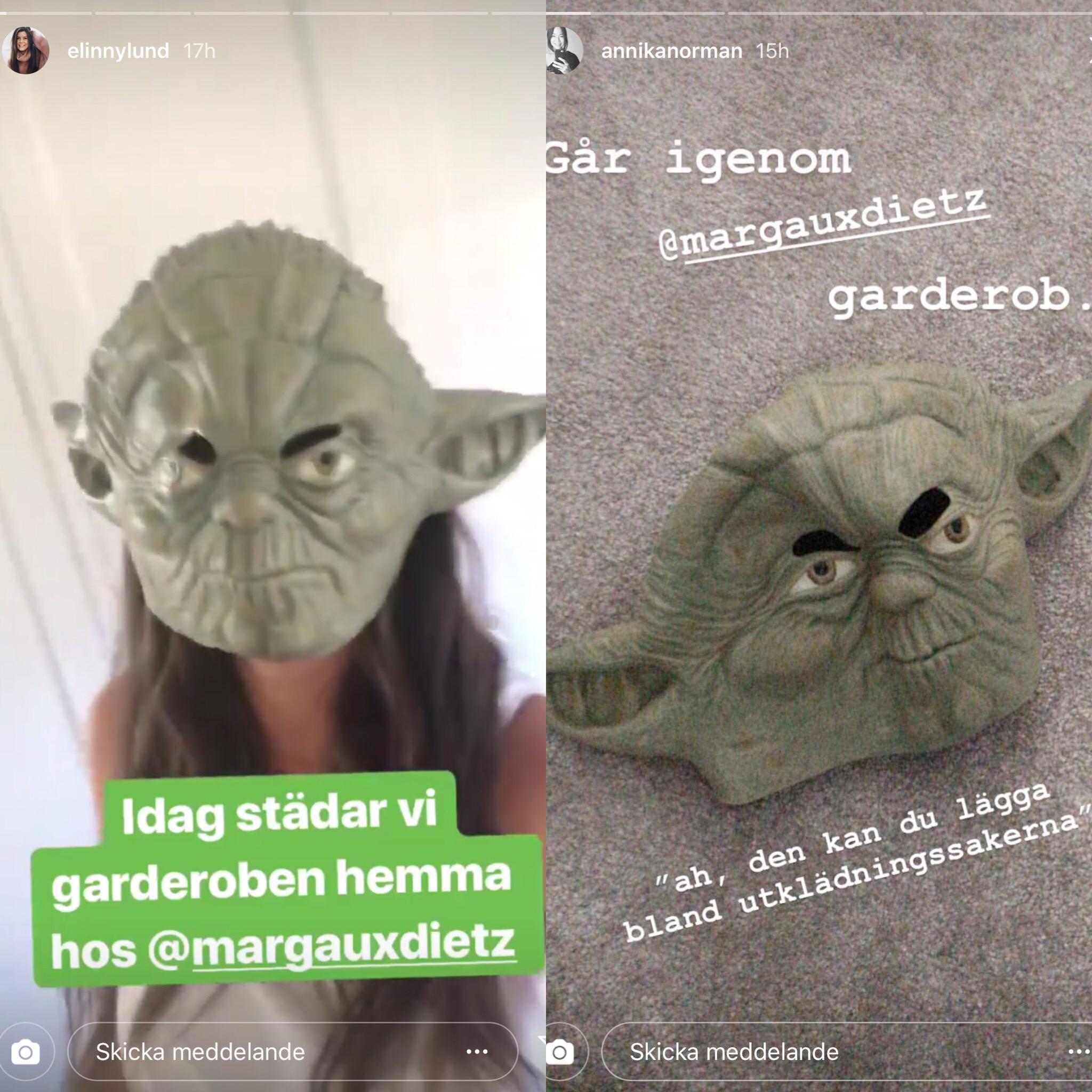 Loppis, Yoda och vloggfest