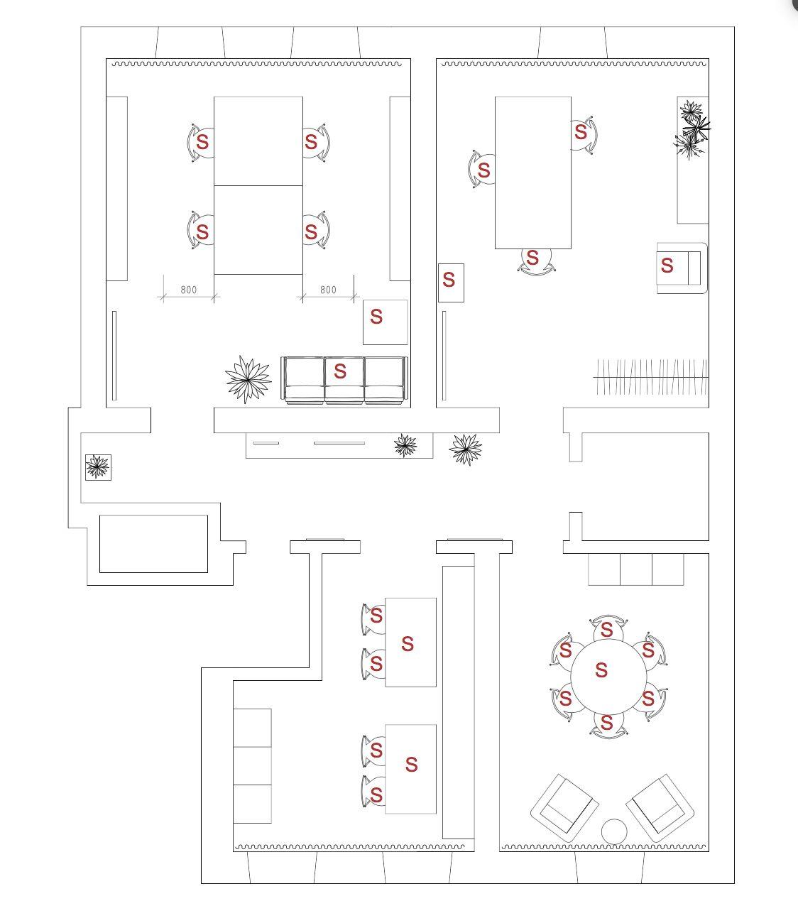 Planering av nya kontoret