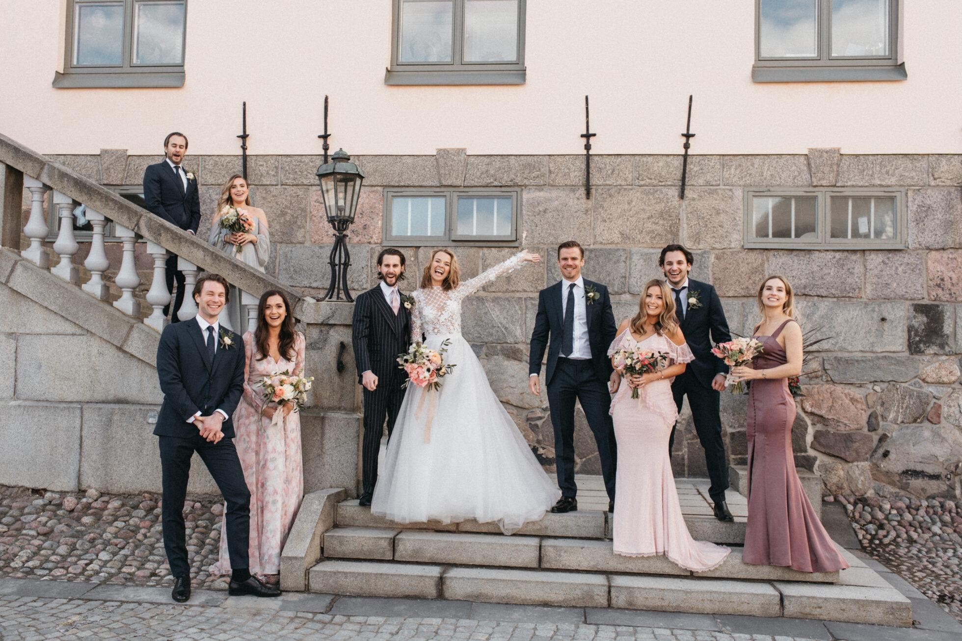 Förberedelserna i bilder – bröllopet