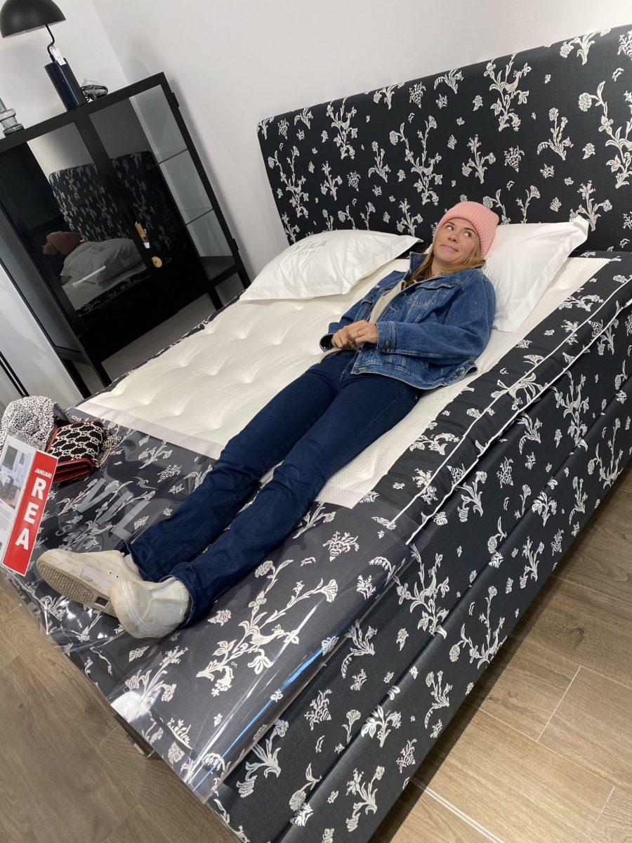 Hjälp mig med sängen