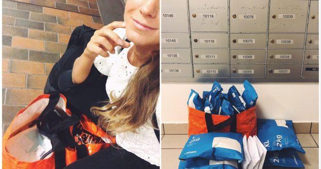 Paketskickeri och sömnproblemera