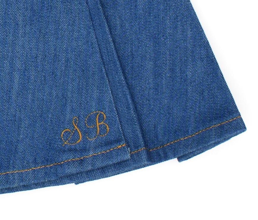 45562f740eea ... bas-kollektion i jeans (kollektionen görs för jc crocker) utifrån min  egen klädstil. Något som kan kombineras lätt med det man redan har sin  garderob.