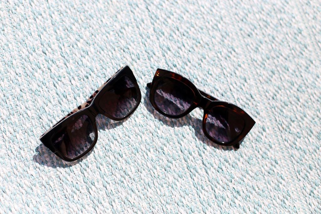 solglasögon.