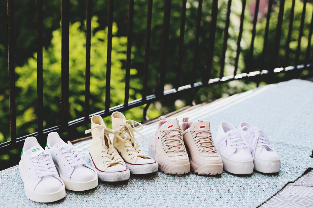 4 par nya sneakers. | Sandra Beijer