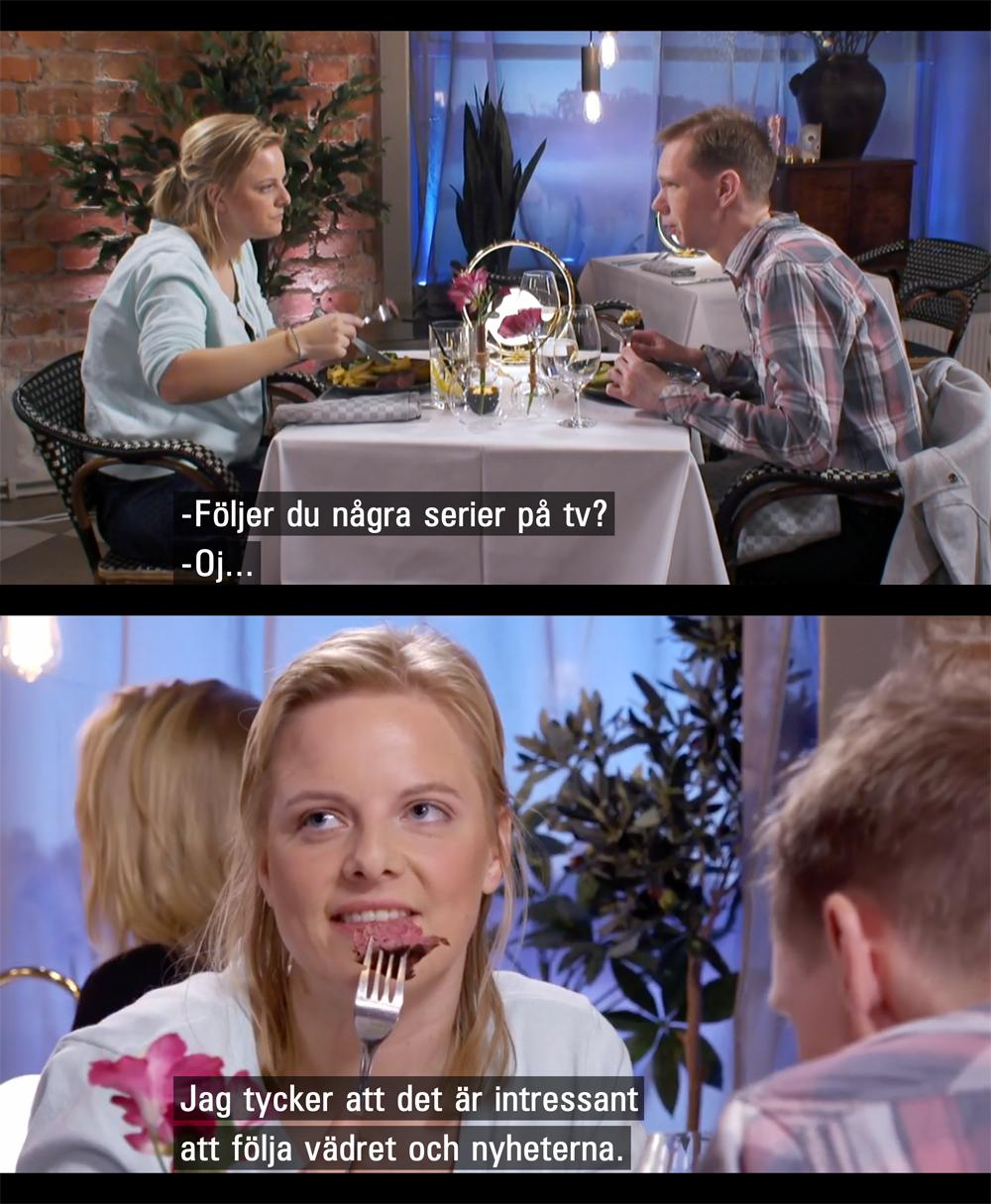 Norsk dramaserie från 2018. En romantisk serie om två människors första möte på en blinddejt.