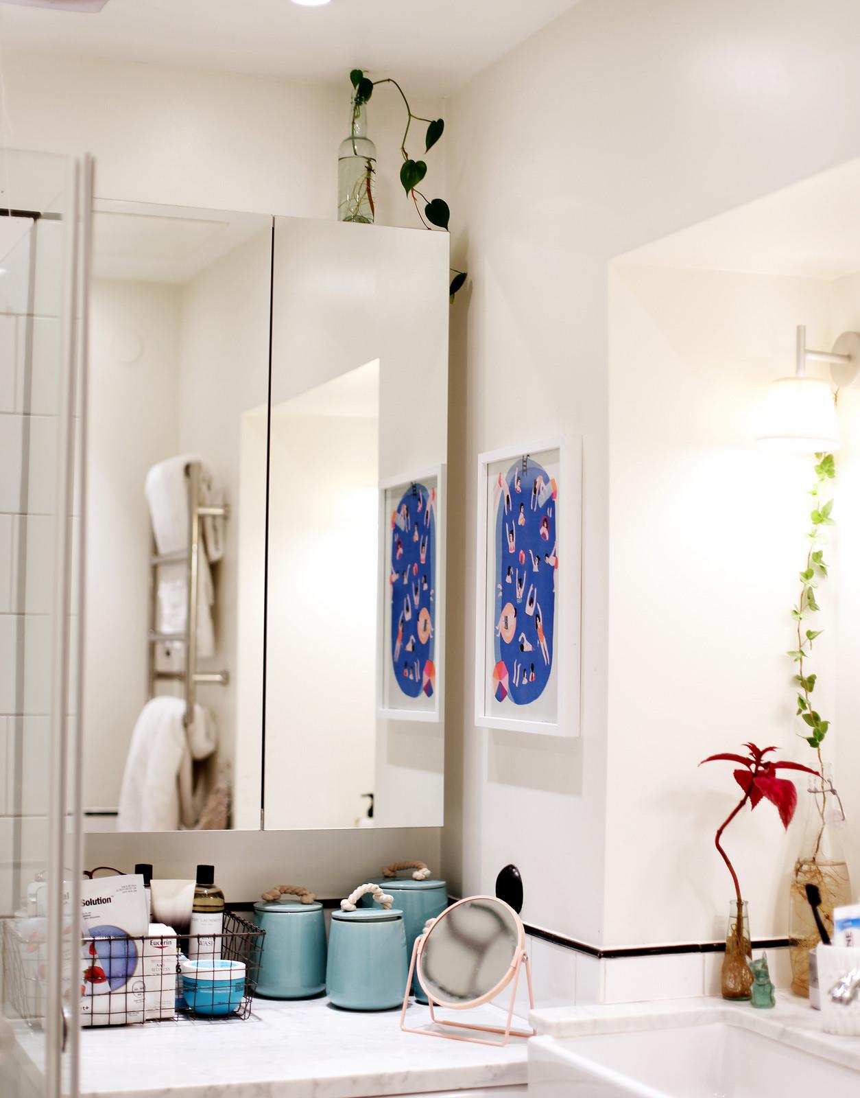 i mitt badrumsskåp Sandra Beijer