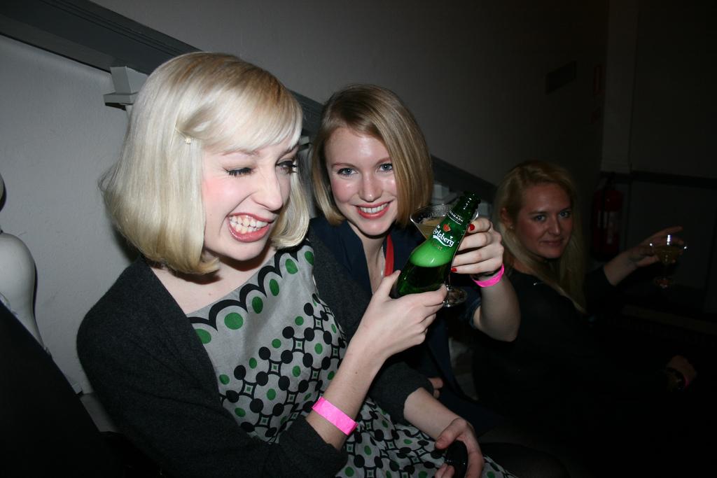 the Elle party
