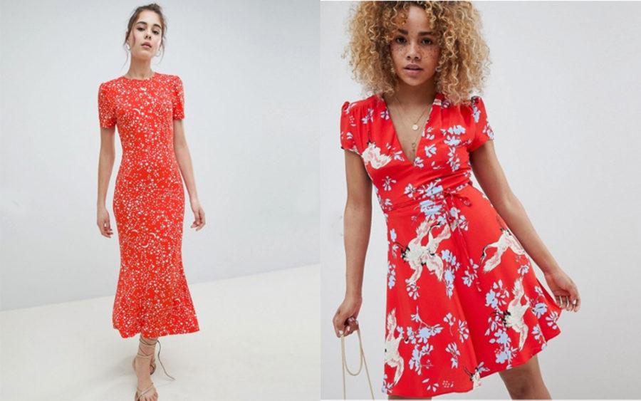 daedbb758fb2 Maxi tea dress in star print från Asos (reklamlänk via Apprl) · Mini Dress  With Tie Waist från Asos (reklamlänk via Apprl)