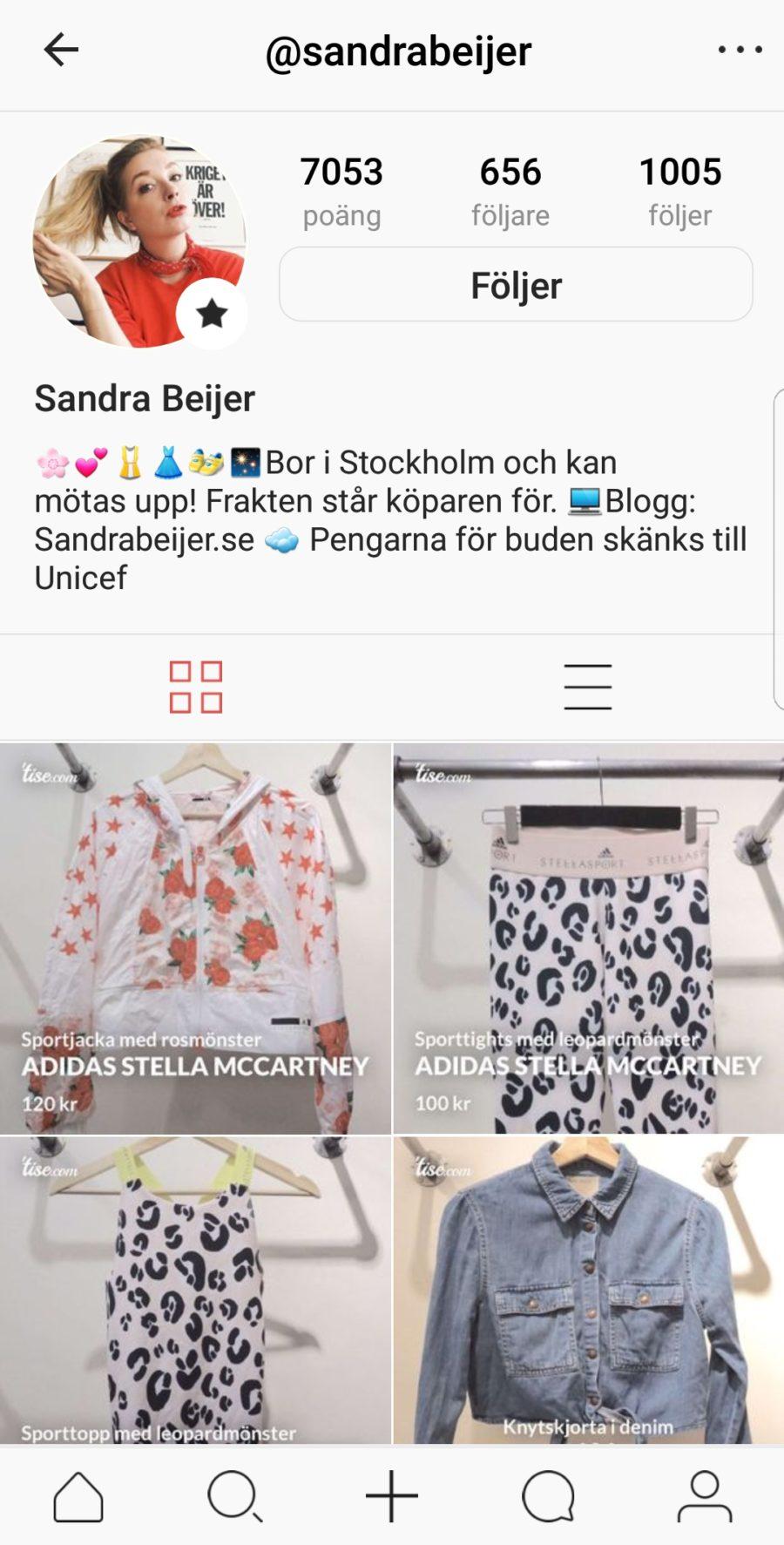 5f3de4294 bloppis online – köp min garderob | Sandra Beijer