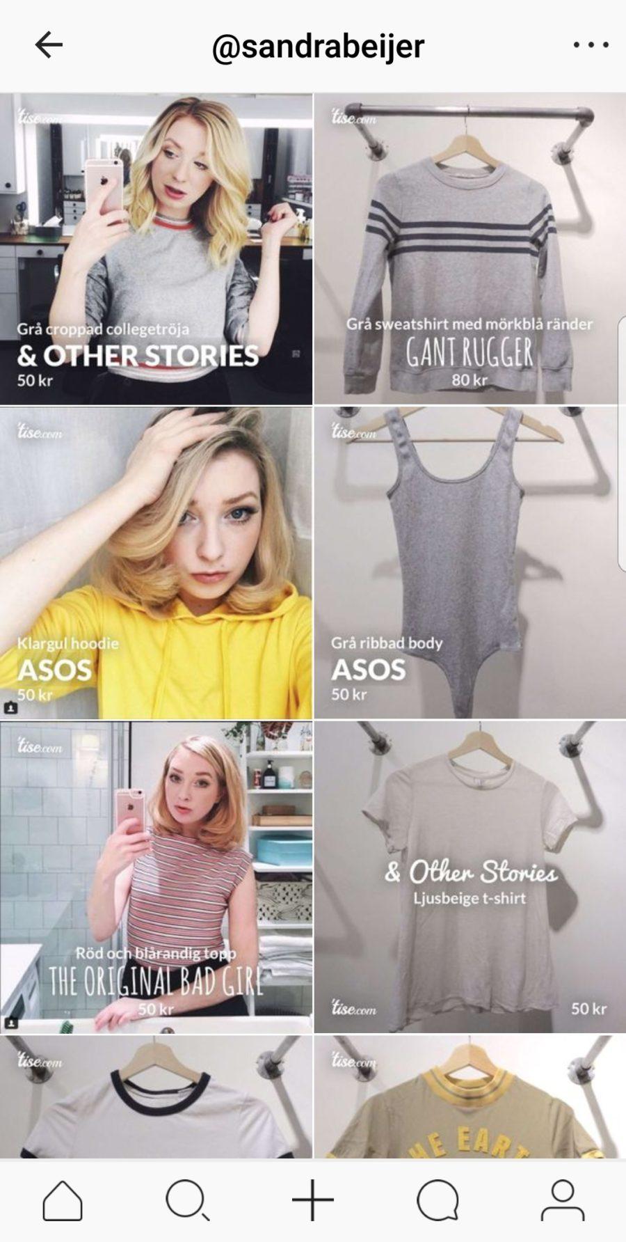 9ffc35dc bloppis online – köp min garderob | Sandra Beijer