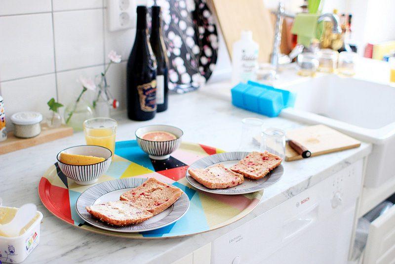 tillbaka och en frukost.