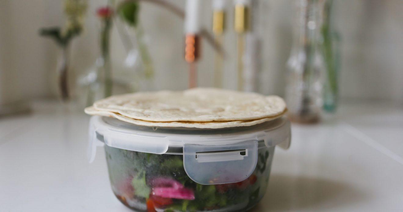 matlåda: tacos.