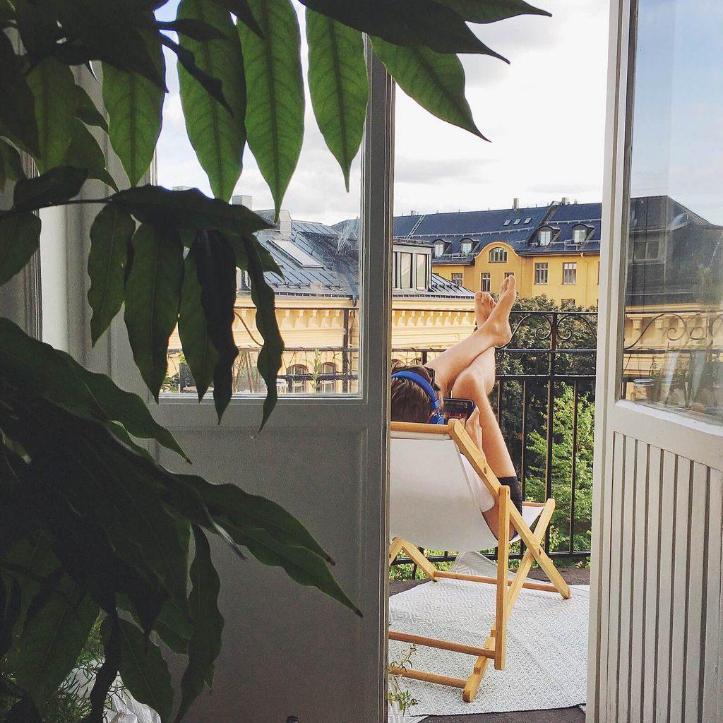 en vecka i stockholm mitt i juli.
