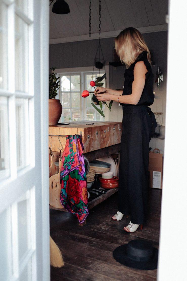 Blomknoppar och att klä upp sig lite hemma ändå